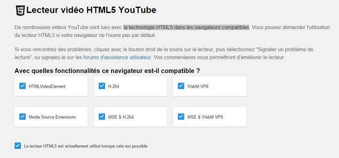 page html5 youtube
