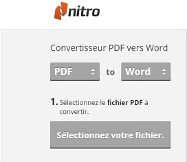 Convertisseur pdf to word