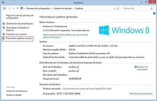 Sauvegarder et restaurer dans windows 8 astuceoweb for Fenetre windows 8