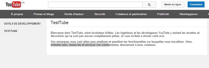 Devenir Testeur YouTube