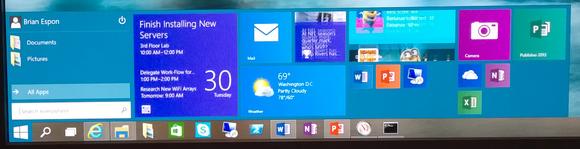 Menu démarrer Windows 10 personnalisable à volonté